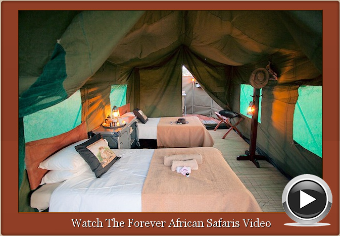 Tented Safaris Zimbabwe Video