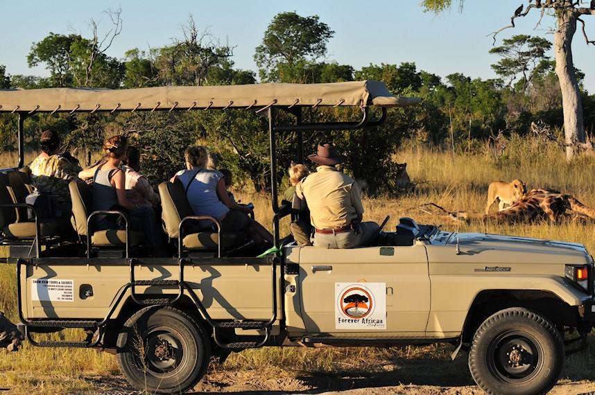 Tented Zimbabwe Safaris : Luxury Tented Safaris In